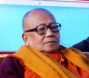 Sangha Nayak Rev. Aswoghosh Mahathero